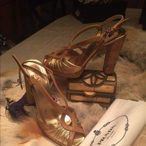 Prada Limited Edition! Worn once Stunning! Size 37